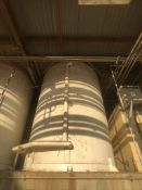 CHERRY BURRELL 15,000 GALLON JACKETED SILO MODEL SVW, S/N 120-73-3381, EQUIPPED WITH VERTICAL