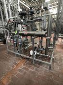 2017 SKID MOUNTED ENERQUIP S/S SHELLING TUBE HEAT EXCHANGER SKID, INCLUDES ENERQUIP S/N 20596,