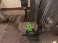 CENTRIFUGAL STAGE PUMP, 1750 RPM