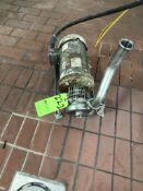 5-HP CENTRIFUGAL PUMP, 3450 RPM, 208-230/460 V