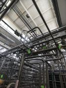 S/S PROCESS PIPING THROUGHOUT HTST 2, (DOES NOT INCLUDE: PROCESS PIPING BEYOND HTST, AIR VALVES,