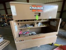KNACK JOB BOX FULL OF RO AND POLISHER SPARE PARTS (SPARE PARTS FOR LOTS 70 AND 84)