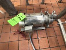 SEPARATOR DE-SLUDGE CENTRIFUGAL PUMP STERLING ELECTRIC MOTOR 3 HP 3525 RPM 208-230/460 V