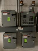 AMMONIA/GLYCOL PANELS FOR CHILLER PUMPS, INCLUDES HANSEN TECHNOLOGIES VARI-LEVEL CONTROL AND (3)