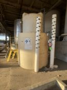1600 GALLON POLY CAL PLASTICS CHEMICAL STORAGE TANK