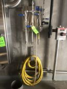 (1) COMMANDER SANITIZATION STATION MODEL 4455 WITH HOSE, (1) HOSE REEL WITH LEONARD SW-75 MANUAL