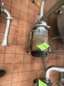 WCB CENTRIFUGAL PUMP, MODEL 072065LV, (TIMING PUMP, SUBJECT TO BULK BID)