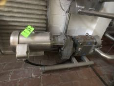 2015 SKID-MOUNTED WCB/SPX POSITIVE DISPLACEMENT PUMP, MODEL 180 U2, S/N 1000003008397, BALDOR