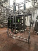 BULK BID INCLUDES LOTS 150 THOUGH 158, 2007 TETRA PAK S/S PLATE PRESS, MODEL TETRA PLEX C6-SH, S/N
