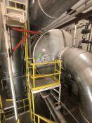 BULK BID FOR LOT 246 - 260 COMPLETE MVR EVAPORATOR ROOM, INCLUDES: Mojonnier S/S Horizontal MVR