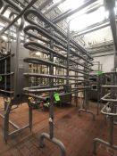 2.5'' NESTED HOLDING TUBES 7-TIERS (SUBJECT TO BULK BID)