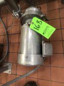 WCB CENTRIFUGAL PUMP 3 HP 1745 RPM 208-230/460 V(BOOSTER PUMP SUBJECT TO BULK BID)