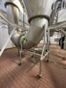 GEA NIRO BSI Approx. 40 ft H x 10 ft W S/S Tower Dryer with Natural Gas, Associated Duct Work, 4 –