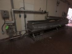 S/S COP TANK APPX DIM. 182''L X 26''W X 22''D, INCLUDES HEAT EXCHANGER, AMPCO PUMP, ABB SPEED