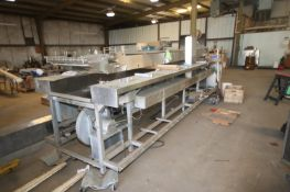 Stein S/S Fryer, M/N DHF-TF, S/N 175, 460 Volts, 3 Phase, with Front Screen, with Top Deck S/S