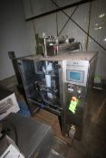 JDA Packaging Equipment VFFS, M/N REDEEPAC520, S/N 270407, 220 Volts, 1 Phase, Mounted on S/S