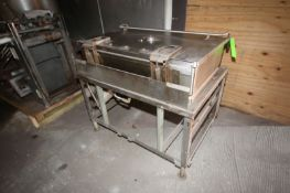 """Market Forge S/S Tilt Skillet, Compartment Dims.: Aprox. 42"""" L x 24"""" W x 11"""" Deep (LOCATED IN"""