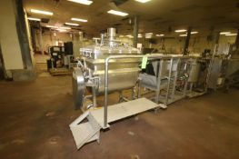 S/S Batter Mixer, with Pressure Lid, with Bottom S/S Clad Drive, with Front Mounted S/S Platform (