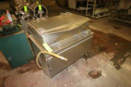 """Market-Forge S/S Tilt Skillet, Compartment Dims.: Aprox. 42"""" Lx 23"""" W x 11"""" Deep (LOCATED IN"""