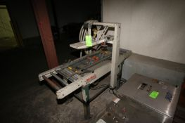 3M-Matic Case Sealing Machine, with Top & Bottom Tape Heads, Mounted on Portable Frame (LOCATED IN