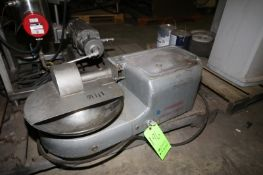 ToastMaster S/S Bowl Chopper, with S/S Bowl & Blade (LOCATED IN DOUGLAS, GA) (Rigging, Handling, &