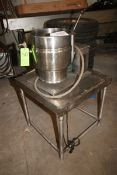 Groen 10 Gal. S/S Tilt Kettle, M/N TDB/7-20, S/N 50, MAX. WP. 50 PSI @ 300 F, 208 Volts, 3 Phase,