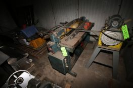"""Roper Whitney Co. Machine Shop Brake, M/N P-52, S/N 1143 5 65, with Aprox. 50"""" L Working Area,"""