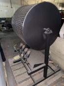 McBroom's Arizona Chile Roaster, with (4) Burner Heads, with Bottom Mounted Feed Chute (LOCATED IN D