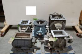 Lot of Rotary Valves, Including 3 Buhler Airlocks. (Located Lebanon, PA) (Load Fee $25.00)