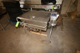 Cleveland S/S Tilt Skillet, Input Puissance 200,00 BTU, 115 Volts, 1 Phase, Mounted on S/S Frame (