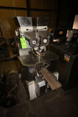 Rheon Cornucopia Encrusting Machine, M/N KN200, S/N 100, 220 Volts, 3 Phase, Mounted on Portable