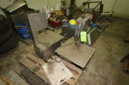 Fleetwood Table Top S/S Band Saws, M/N MSKL, S/N 00130, 110 Volts, with Blades (LOCATED IN