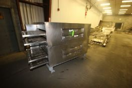 """Lincoln Quadruple Deck Oven, with Aprox. 3"""" H Clearance, with Aprox. 32"""" W S/S Mesh Belt, Mounted on"""