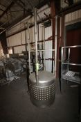 MetalCraft 150 Gal. S/S Jacketed Tank, M/N 1003400, S/N 18383-1, with Ammonia Jacket 150 PSIG,