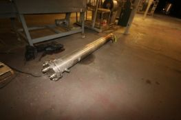Enequip S/S Shell & Tube Heat Exchanger, S/N 8055, Shell Side 150 PSIG @ 375 F, Tube Side 150 PSIG @
