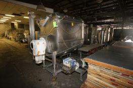 APV S/S Jacketed Paddle Blender, S/N 00-179, MAWP 100 PSI @ 300 F, MDMT -20 F @ 100 PSI, Mounted