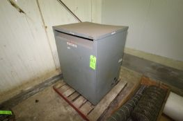 """Square D Transformer, CAT. No. 150T3H, Overall Dims.: Aprox. 31-1/2"""" L x 27"""" W x 43"""" H (LOCATED IN"""