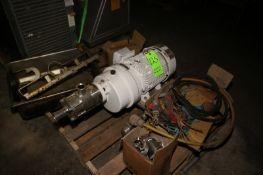 IKA High Shear Pump, Type DR3/5/CIP, M/N P008466, S/N1357, with Siemens 10 hp Motor, 3506 RPM,