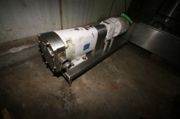 """G & H 5 hp Positive Displacement Pump, M/N GHPD-622PPF, S/N 98-5-7956A, with Aprox. 3"""" Clamp Type"""