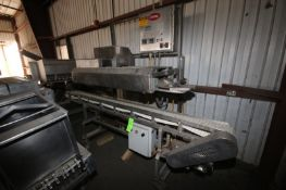 Doboy Top Sealer, M/N CBS-13, S/N 88-11239, 460 Volts, 3 Phase, with Straight Section of Conveyor,