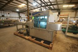 Ulma Taurus S/S Tray Packer, M/N TAURUS 570, S/N 7210060, 220 Volts, with Vacuum Pump, with (2)