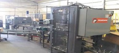 Pearson 4 and 6-Pack Inserter, S/N 2012MP3512876, 460 V, 6.0 FLA, 3 Phase, 60 Cycles, 1.10 (FLA)