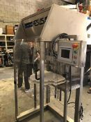Aesus 1 Inline Chuck Single Head Capper, Model DELTACAP, All S/S Construction, Small Footprint,