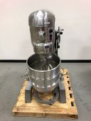 Hobart Mixer.  Model H600DT, Serial: 11-396-538, 60 Qt Capacity.  2 hp, 460 Volt, 3 Phase 60 Hz