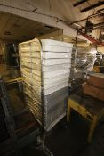 S/S Pan Racks, with Assorted Pans (LOCATED IN DOUGLAS, GA) (Rigging, Handling, & Site Management
