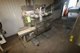 Rheon Cornucopia Encrusting Machine, M/N KN400, S/N 1025, 220 Volts, 3 Phase, Mounted on Portable