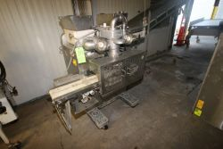Rheon Cornucopia Encrusting Machine, M/N KN400, S/N 1025, 220 Volts, 3 Phase, Mounted on Portable
