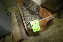 Crate of S/S Mesh Conveyor, Assorted Styles & Sizes (LOCATED IN DOUGLAS, GA) (Rigging, Handling, &