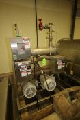 Trojan UV Logic 200 Gal. Per Min. UV System, S/N 2201, with (2) 15 hp Centrifugal Pumps, Mounted