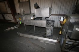Stein S/S Breader, with Side Screw, Mounted on S/S Frame (NOTE: Missing Parts--See Photographs) (